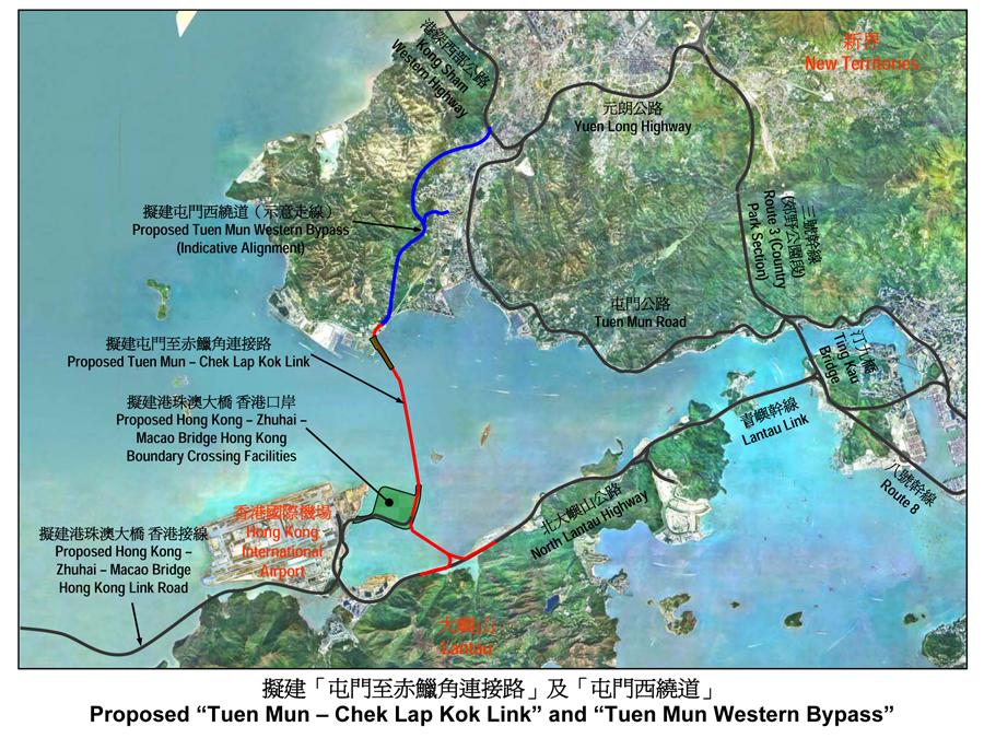 港珠澳大桥东涌段规划和现状?